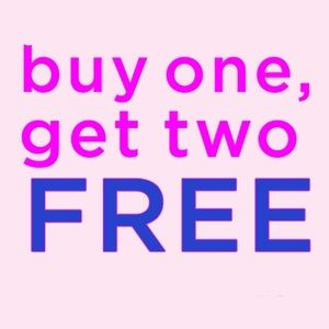 CLOSET CLEAR OUT!! BUY 1 GET 2 FREE